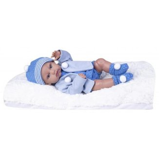 Boneca Bebê Boutique Dolls Reborn 474 Super Toys