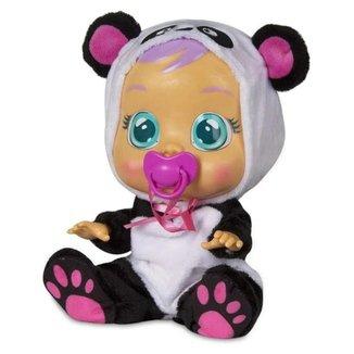 Boneca Bebê Cry Babies Com Sons e Lágrimas de Verdade Pandy Multikids