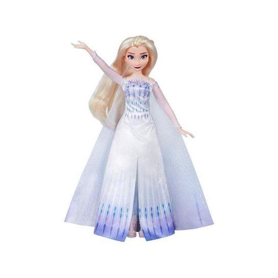 Boneca Estações de Musculação Elsa Hasbro - Colorido