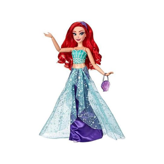 Boneca Disney Princess Style Serie Princesa Ariel - Colorido
