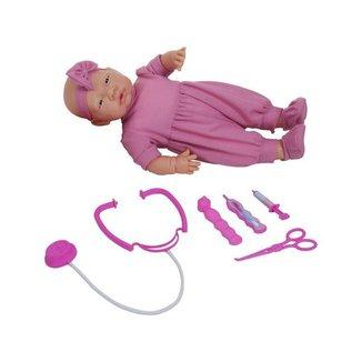 Boneca Doutora Baby com Acessórios