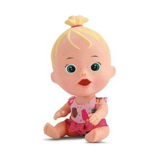 Boneca Little Dolls Brincar de Papinha Divertoys
