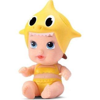 Boneca Little Dolls Tubarãozinho Divertoys Ref.80