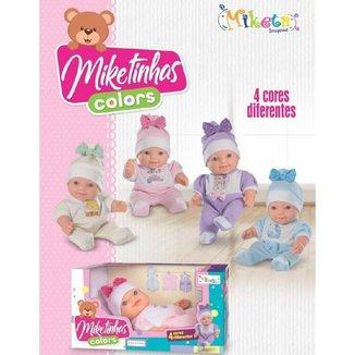 Boneca Miketa Miketinhas Colors 1130 Sortida