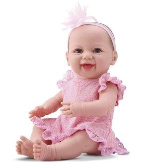 Boneca Newborn Diver Toys Dengo com Acessórios -