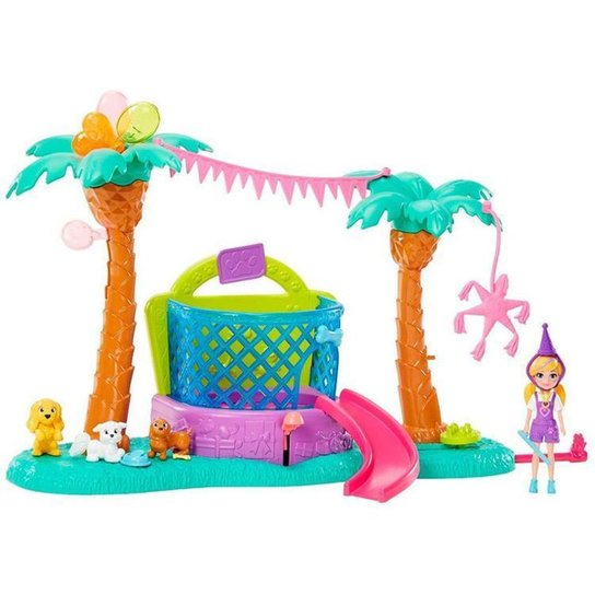 Boneca Polly Pocket Parque Temático de Bichinhos - N/A