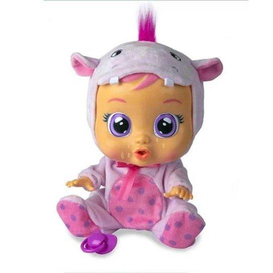 Boneca Que Chora Multikids Cry Babies Hopie - BR1 - Branco