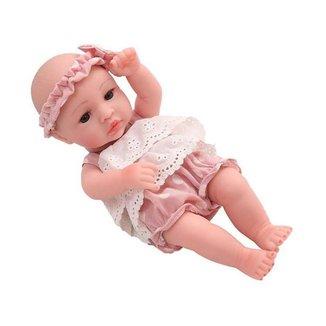 Boneca Reborn Mini Lauren Laura Baby