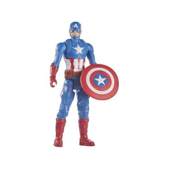 Boneco Capitão América Marvel Vingadores - Colorido