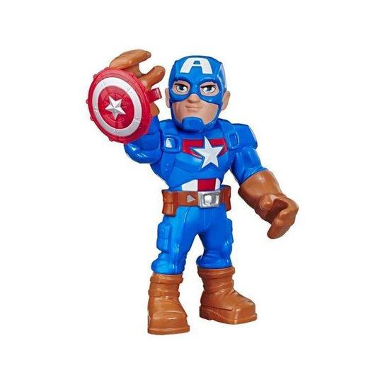 Boneco Capitão América Playskool Heroes Marvel - N/A