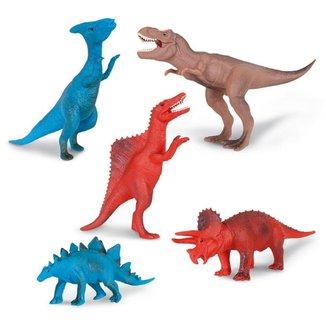 Boneco Dinossauro Amigo 4 peças 291 Sortido Super Toys