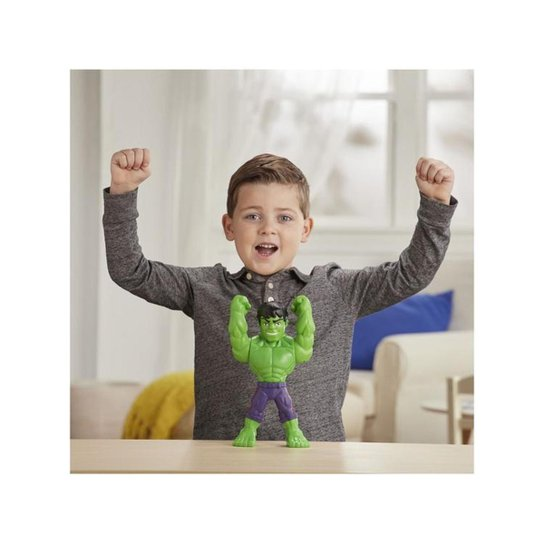 Boneco Hulk Playskool Heroes Marvel Super Hero - Verde