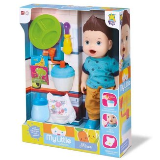 Boneco My Little Collection Boy Mixer Divertoys R