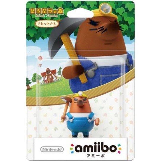 Boneco Resetti - Nintendo - Colecionável Amiibo - Incolor