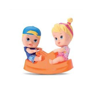 Bonecos Little Dolls Playground Gangorra Divertoy