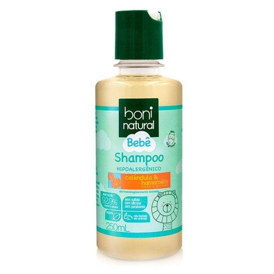 Boni Natural Bebê Shampoo Hipoalergênico 250ml - Incolor