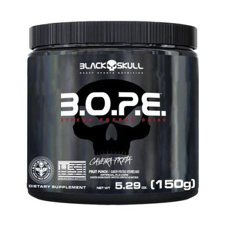 Bope PréTreino 150G  Black Skull