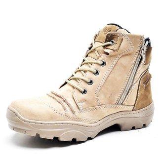 Bota Adventure Couro Legítimo Fóssil Trekking Dual Difranca Stop Boots - R43