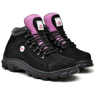 Bota Adventure Tchwm Shoes Feminina Couro Confortável Trilha