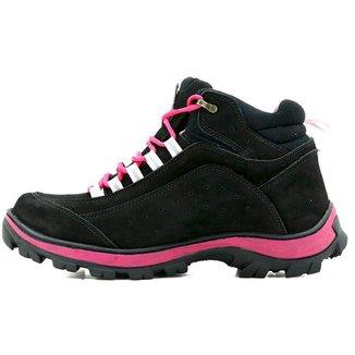 Bota  Adventure Trekking Em Couro    Atron Shoes