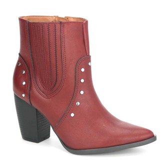Bota Ankle Boot Feminina Via Marte 19-6002