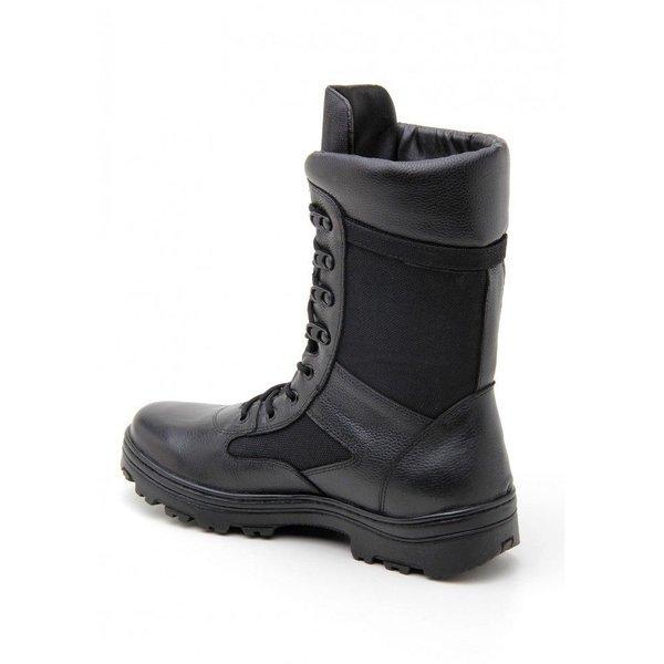Militar Atron Bota Couro Atron Shoes Preto Bota 8IrqwUqFxE
