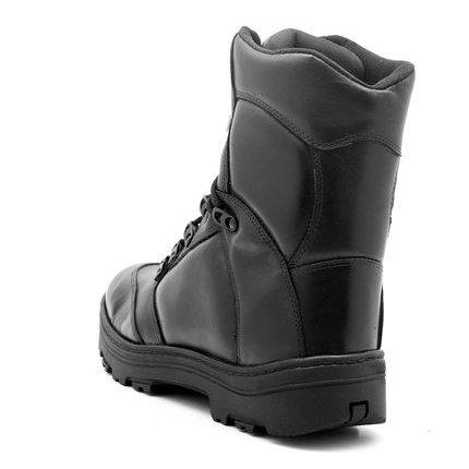 Atron Atron Preto Motociclista Shoes Bota Amarrar Motociclista Shoes Bota 4I8qqwETz