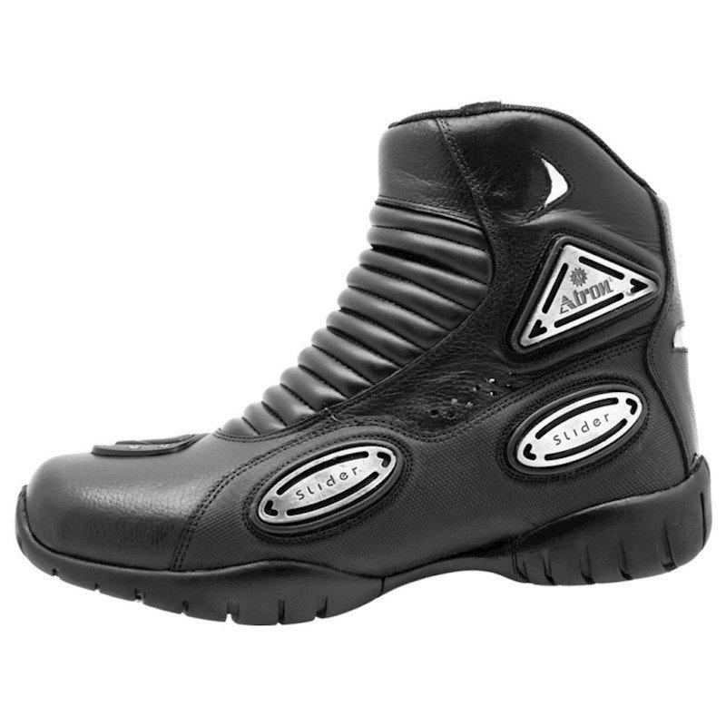 Bota Preto Bota Motociclista Atron Atron Shoes 5pBxqw1