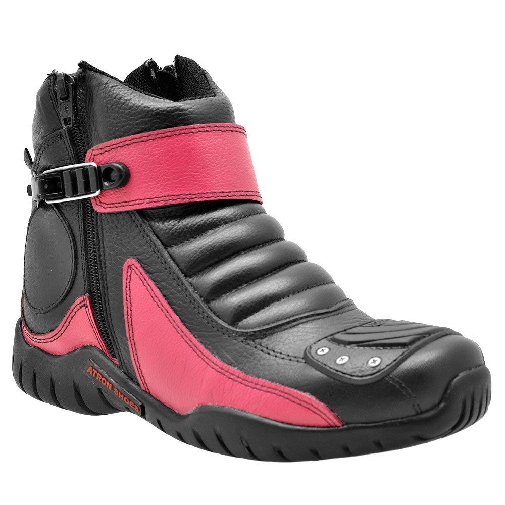 Shoes Bota Motociclista Atron Bota Preto Atron wqtP7Ygt