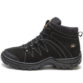 Bota Caterpillar Adventure Couro Preto