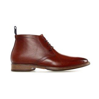 Bota Constantino Smooth Leather Marrom 38