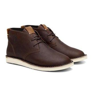 Bota Coturno Gobi Desert Ohio Camurça Cano Baixo Black Boots