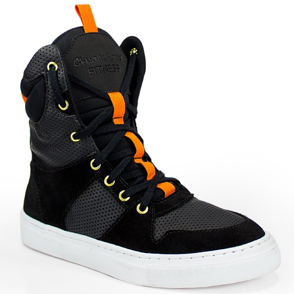 Cano Preto Marra Fitness Cheia Alto de Sneaker Bota Feminina 1qZaAw