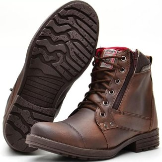 Bota Fort Way Ziper Masculina