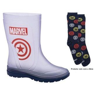 Bota Galocha Infantil Marvel Action Day Masculina