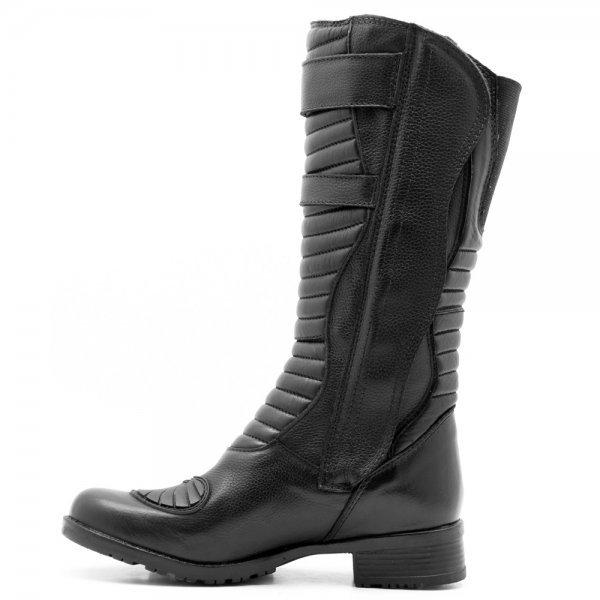 Shoes Bota Protetor Atron Cano Militar com Longo Câmbio de Preto UxUP1qEwn