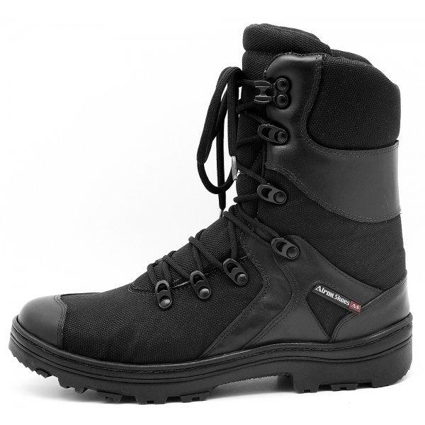 Shoes Cano Militar Bota Longo Cano Preto Atron Longo Preto Bota Shoes Militar Atron EwqqRCd