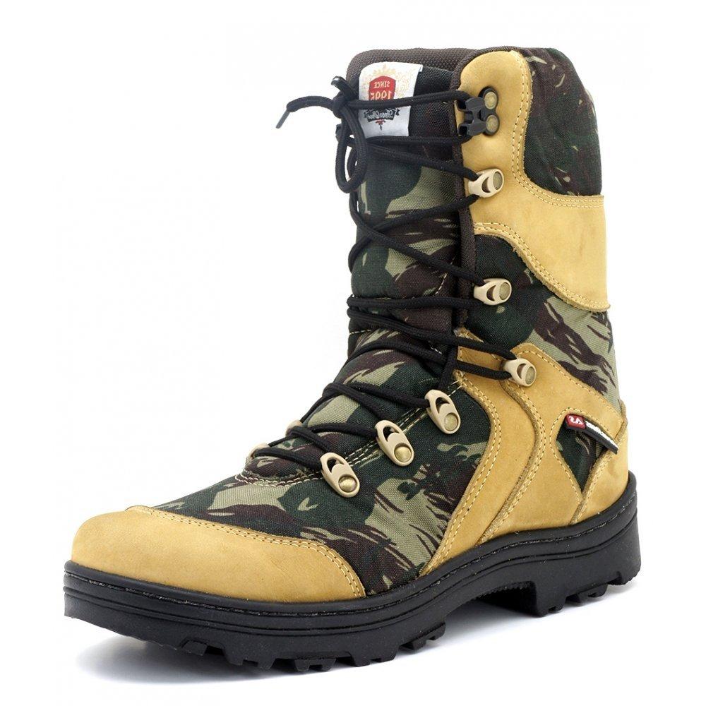 Camuflado Cano Atron Atron Shoes Longo Bota Shoes Bota Militar Militar 0qzfww