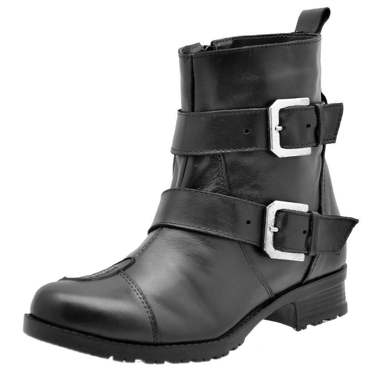 Bota Motociclista Shoes Bota Motociclista Preto Feminina Atron Atron Hz5q1n7wt