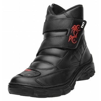 Bota Motociclista TH Velcro