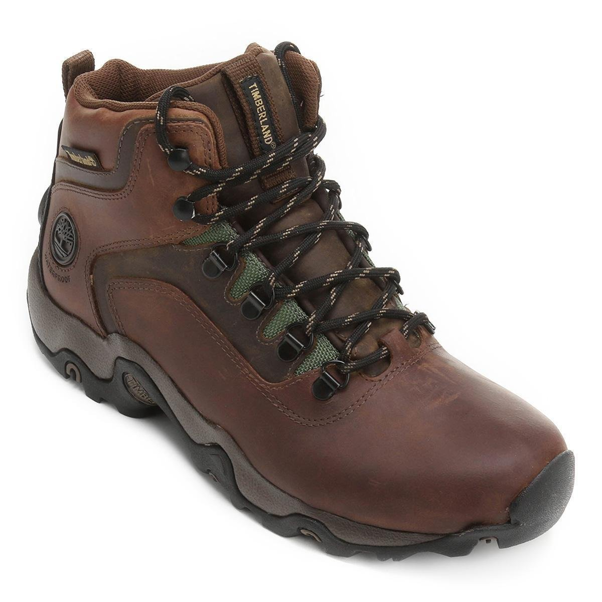Bota Timberland Black Forest Masculina - Marrom Escuro ...