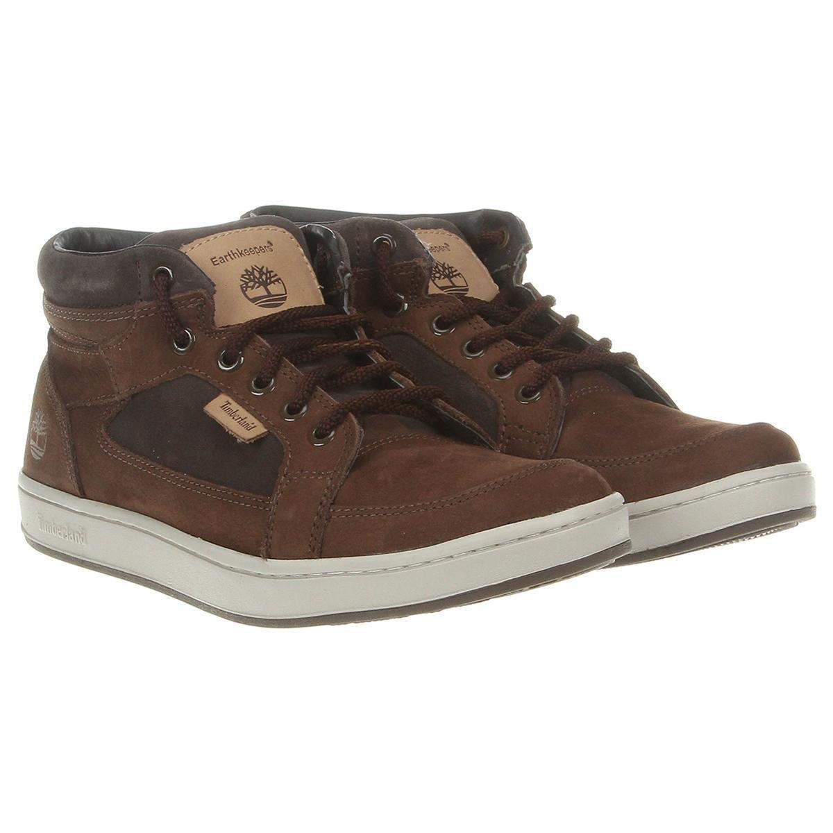 Bota Timberland EK Packer Leather Chukka - Marrom Escuro - Compre ... c14970a622d