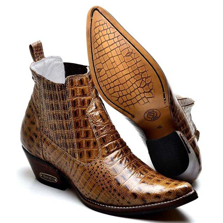 Bota Top Franca Shoes Country - Marrom - Compre Agora  e7acaa14d30