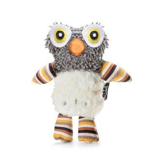 Brinquedo de Pelúcia Amiguinhos Estampados Birdie Pp165 com Buzininha