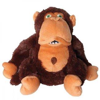 Brinquedo de Pelúcia Gorila Simão - Mimo Pet - PP197