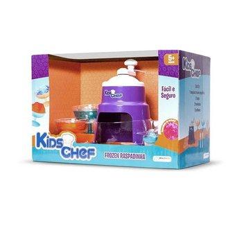 Brinquedo Frozen Raspadinha Kids Chef Multikids -