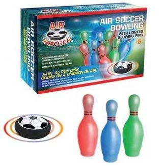 Brinquedo Kit Boliche Com Disco Flutuante E Pinos
