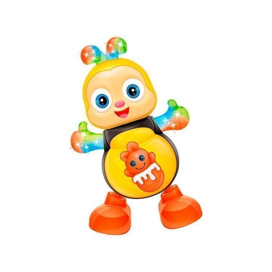 Brinquedo Musical Dancing Abelha - Amarelo