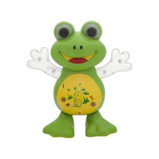 Brinquedo Musical Dancing Sapo Dm Toys - Verde