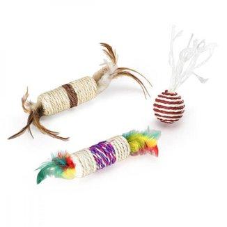 Brinquedo Para Gatos Conjunto Posh Mimo Pet - PP119